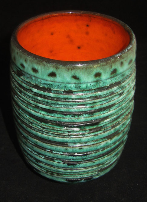 Poole Pottery Studio Vase - Atlantis - SOLD
