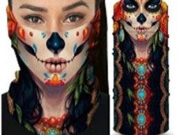 Sugar Skull print Sleeve Style