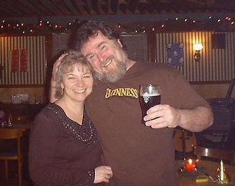 Kevin and Kathy Campion at the Narrowsburg Inn
