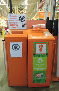 Home depot recycle bins