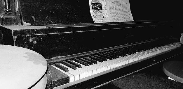 Kevin Campion's piano.