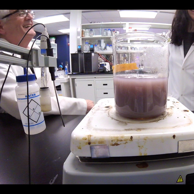 Video still - Lab collaboration