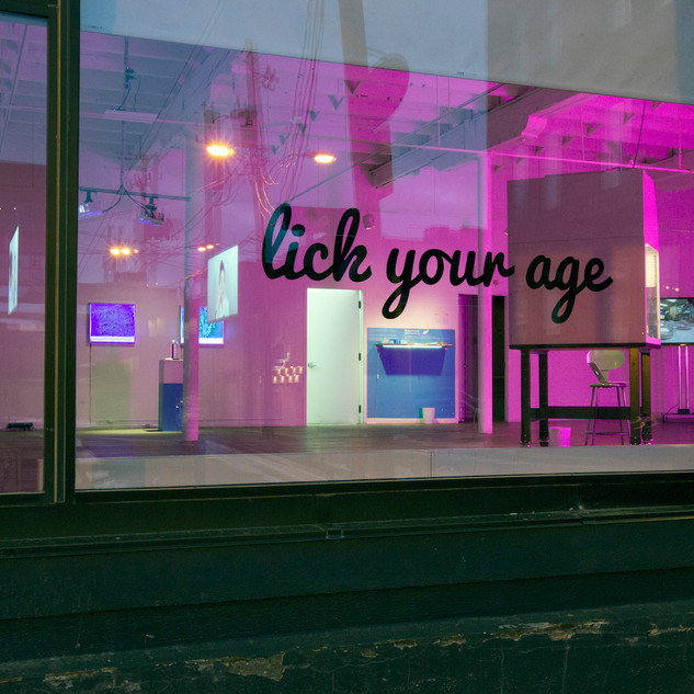 Lick your age
