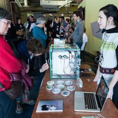 1st Canadian DIY Bio Fair, performance/installation