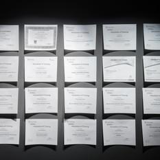 Certifications, installation