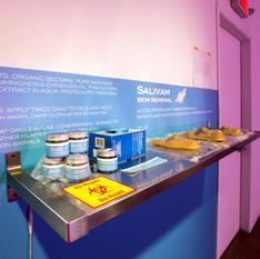 Salivam interactive installation
