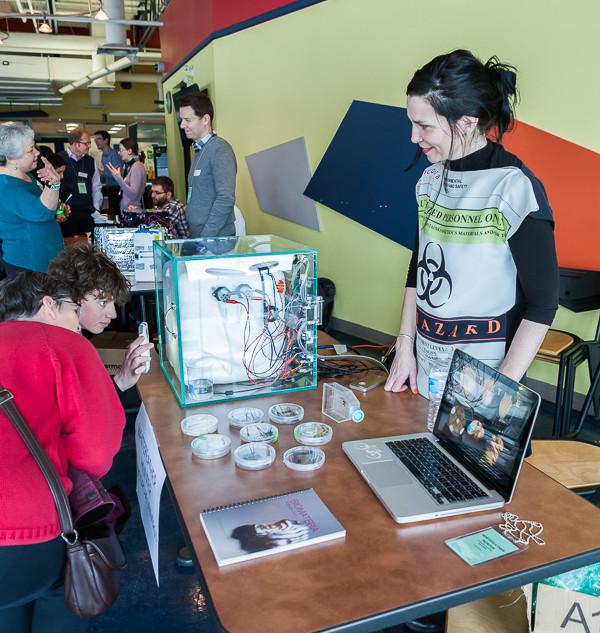 1st Canadian DIY Bio Fair, performance