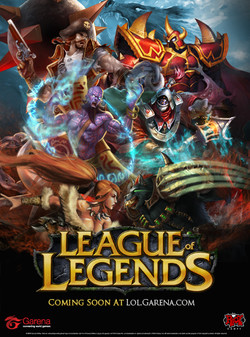 GarenaLeagueoflegendsposter