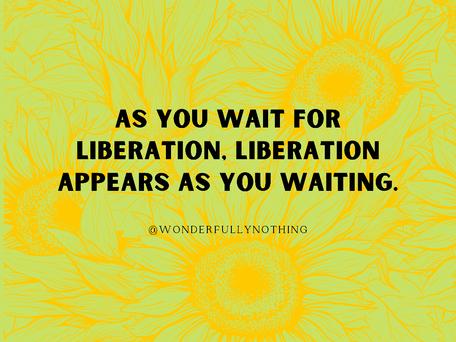 Waiting is Laming
