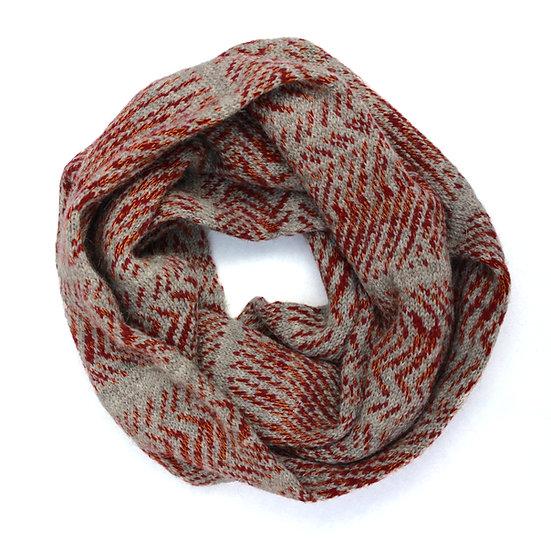 Glaw loop scarf | blood orange