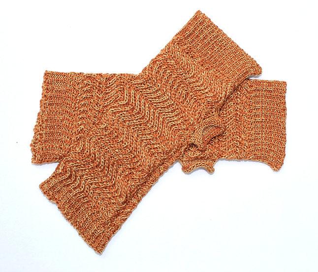 racked hand warmers | rusty orange