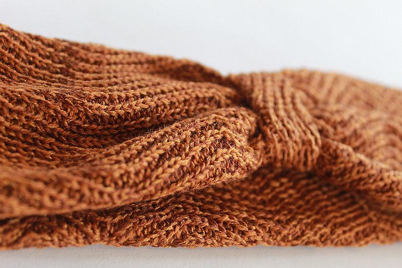 silk and merino racked headband   multiple colour options