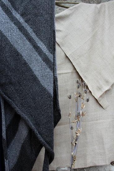 lattice scarf | stripe
