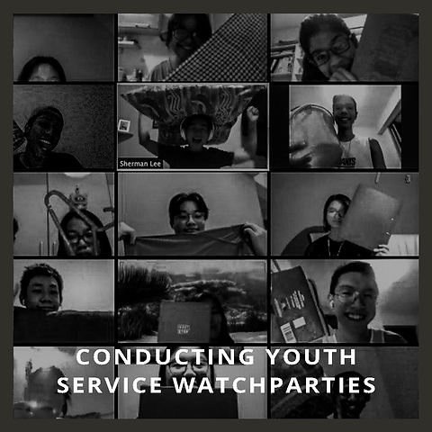 Conducting Youth Service Watchparties