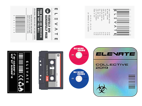 Elevate A6 Sticker Set