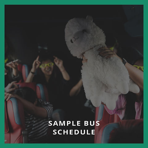 Sample Bus Schedule