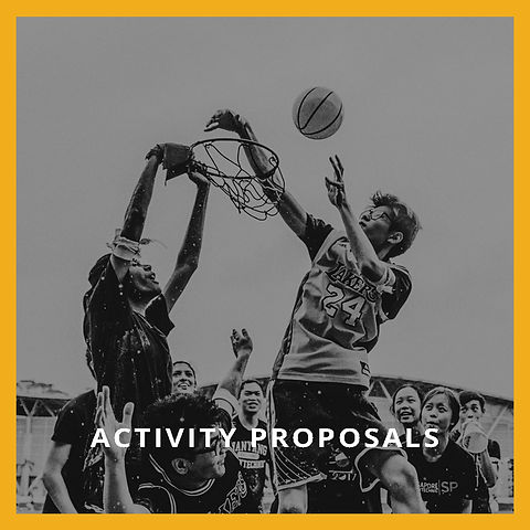 Activity Proposals