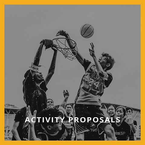 Activity Proposals