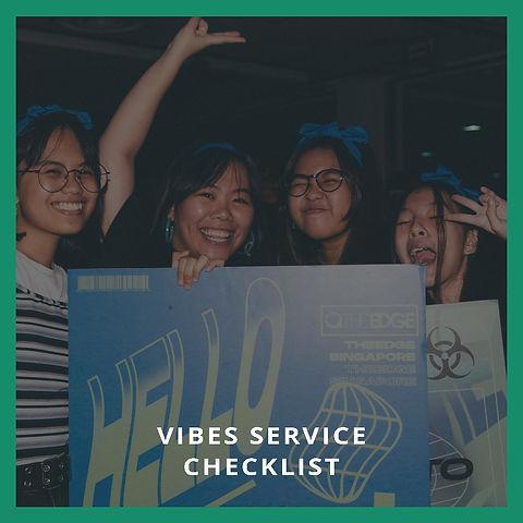 Vibes Service Checklist