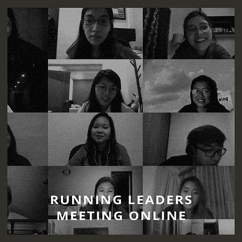 Running Leaders Meeting Online