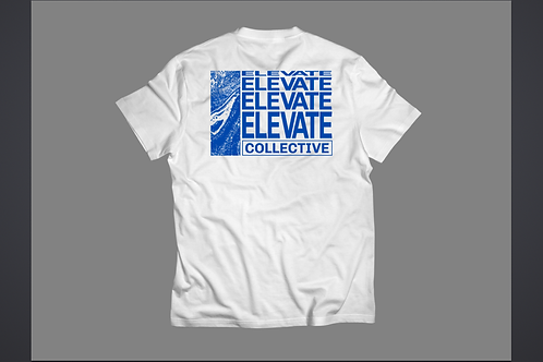 Oversized White Elevate Shirt