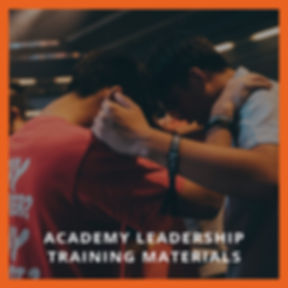 Academy Leadership Training Materials