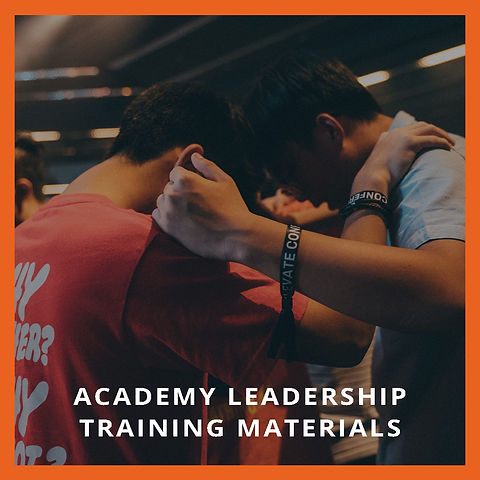 Academy Leadership Training Materials
