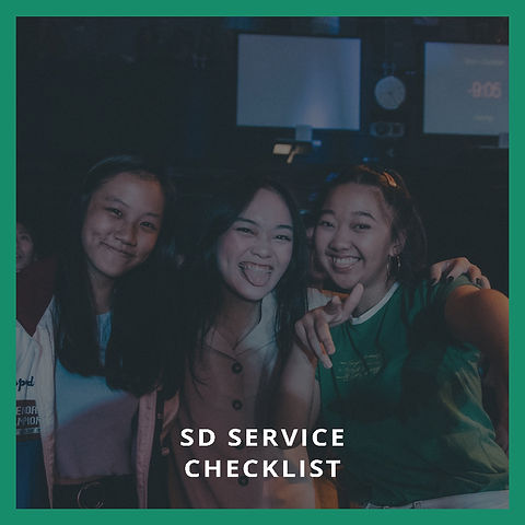 Service Director Service Checklist
