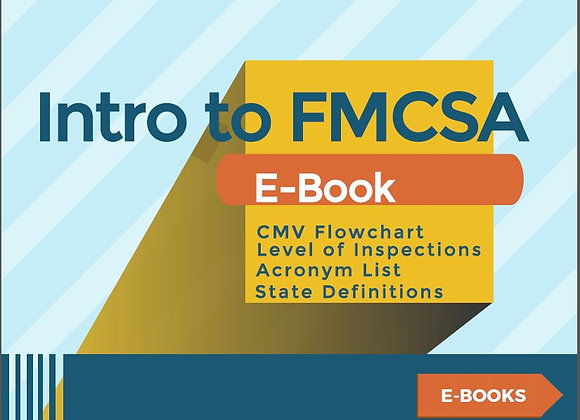 Introduction to FMCSA - E-Book