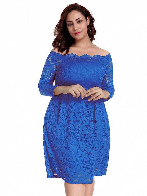 copy of שמלה תכלת דגם: 500