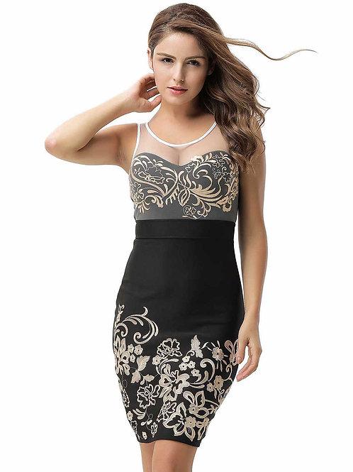 שמלה אופנתית דגם: 429