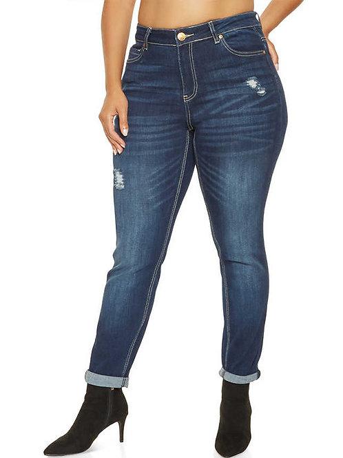 ג'ינס קרעים משופשף: 519