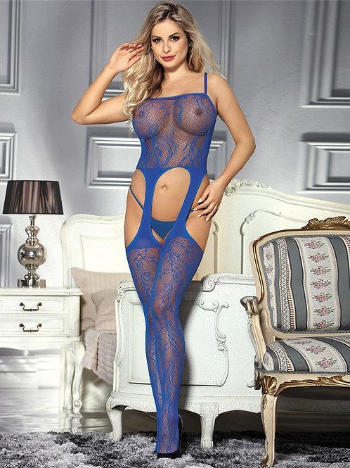 גרביון גוף כחול 163