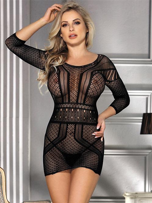 שמלת מיני סקסית