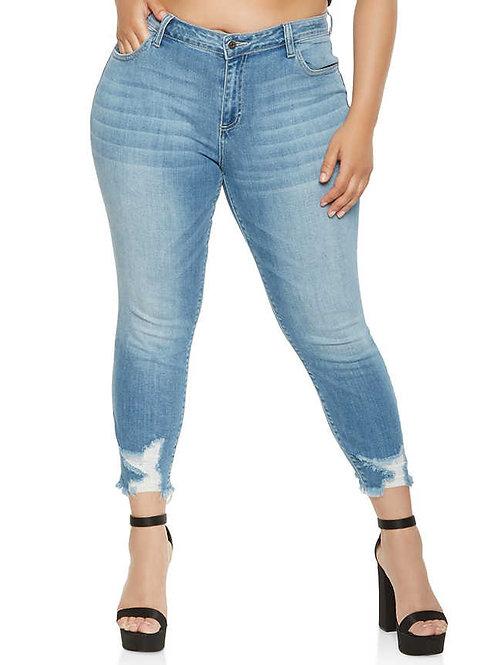 ג'ינס קרעים סקיני: 516