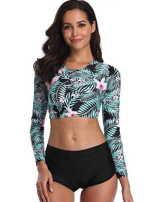 בגד ים שרוול ארוך דגם: 420