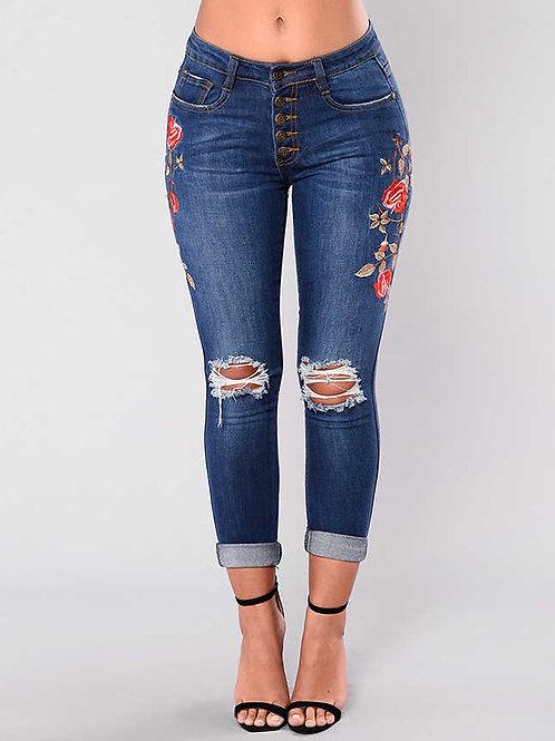 מכנסי ג'ינס קרעים: 456