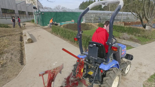 Tuinbouw tractor.mov