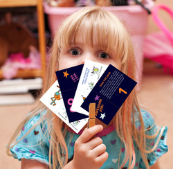 Girl and Cards