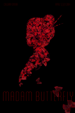 Madam Butterfly Poster