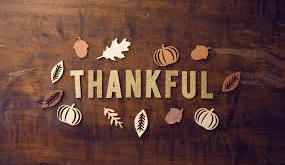 Here is What I'm Thankful for This Year