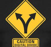 The Digital Divide might be turning into a Scary Social Divide