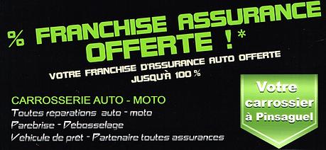 carrosserie franchise offerte
