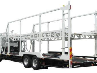 5台積車両運搬車