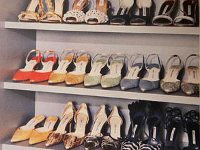 How do you organize your shoes?