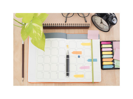 How to Stay Organized When Things Are Out of the Ordinary?