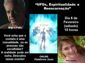 """""""UFOs, Aliens, Espiritualidade e Reencarnação"""""""