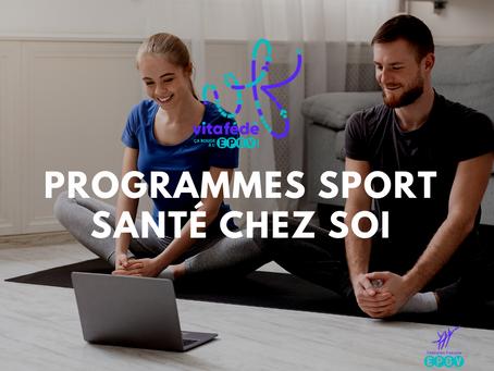 Programmes SPORT SANTÉ CHEZ SOI