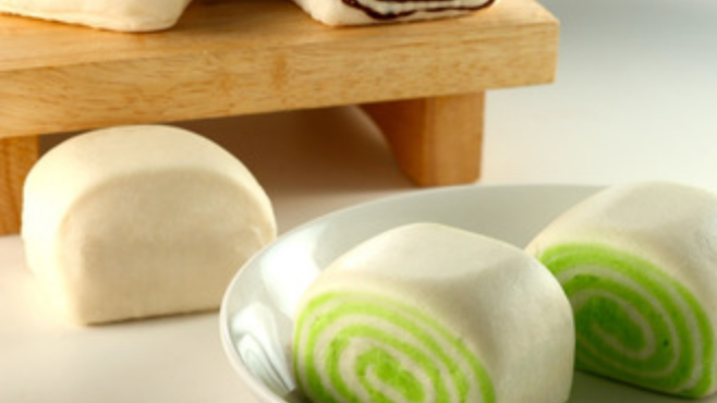 Mantou with Delicious Multi-Flavour Inlay