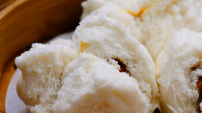 Fluffy Steamed Bun with Various Fillings
